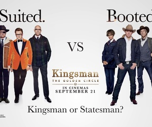 the golden circle and kingsman image
