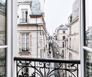 building, paris, and architecture image