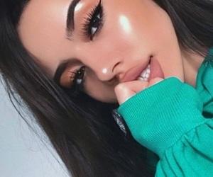 beauty, girls, and glow image