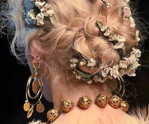 fashion, hair, and dolce and gabbana image
