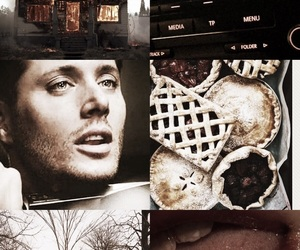 aesthetics, dean winchester, and fall image