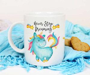 coffee mug, etsy, and watercolor image