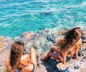 beachlife, bikini, and summer image