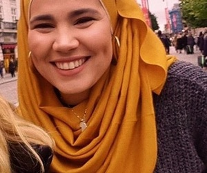 dimples, hijab, and norway image