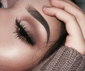 eyeshadow, perfect, and girl image