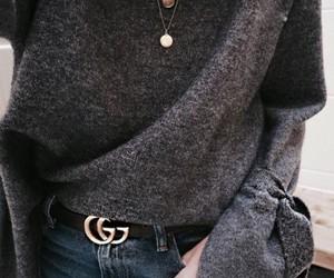 accessoires, denim, and fashion image