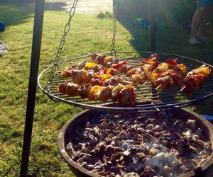 barbecue, sweden, and food image