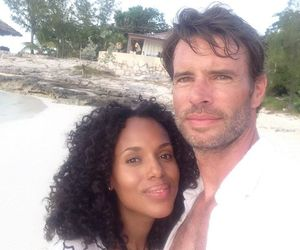 scandal, kerry washington, and scott foley image