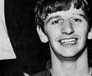 black and white, music, and ringo starr image