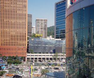 city, day, and korea image