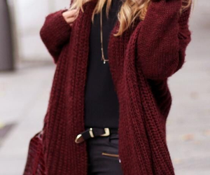 chic, cozy outfit, and outfit image
