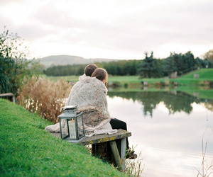 country living, countryside, and couple image