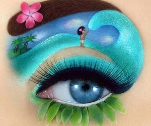 cool, make up, and princess image