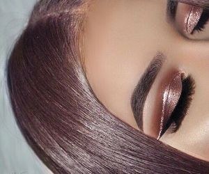makeup, beauty, and hair image