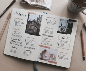 bullet journal and study image