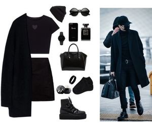 army, black, and clothes image