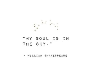 quotes, shakespeare, and sky image