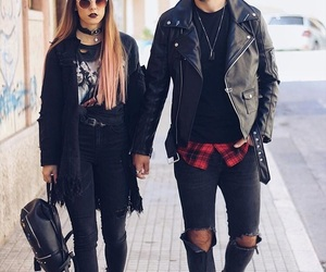alternative, couple, and couples image