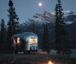 camping and night image