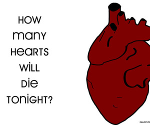 drawing, heart, and text image