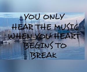 break, edit, and music image
