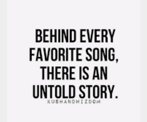 song, quotes, and story image