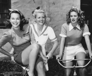 vintage, 50s, and bike image