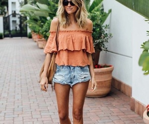 fashionable, outfit, and style image
