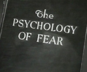 fear, book, and black and white image