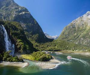 milford sound, new zealand, and tours image