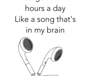 adorable, headphones, and music image