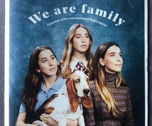 family, este haim, and sisters image
