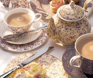 tea and tea party image