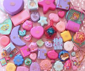 polly pocket, pink, and kawaii image
