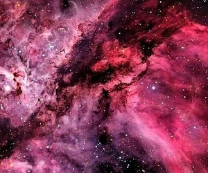pink, wallpaper, and galaxy image