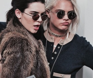 kendall jenner, cara delevingne, and model image