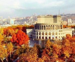 armenia, autumn, and city image