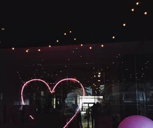 heart and led image