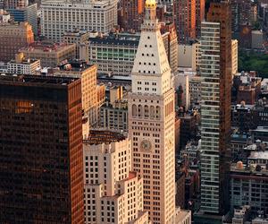 building, new york, and skyline image