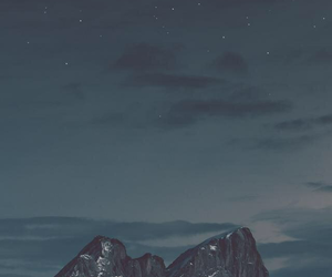 background, beautiful, and mountains image