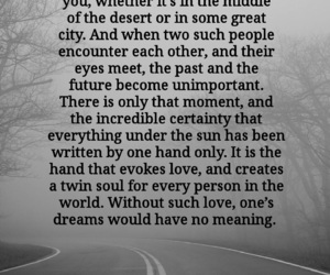 love quotes, soulmates, and relationship quotes image