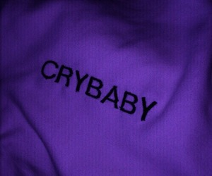 crybaby, grunge, and white image