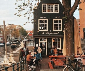 amsterdam, river, and bar image