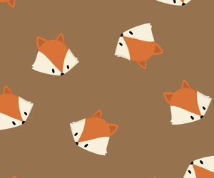 fox, wallpaper, and autumn image