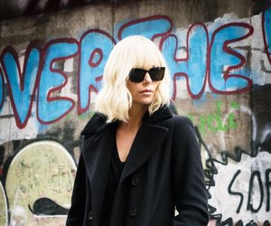 Charlize Theron, spy, and atomic blonde image