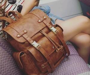 bag, beauty, and brown image