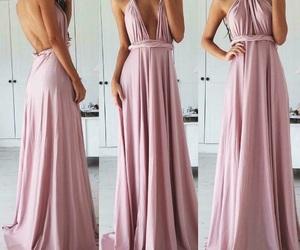 rosa, maxidress, and abito image
