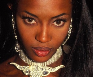 Naomi Campbell and model image
