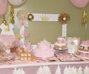 party, pink, and princess image