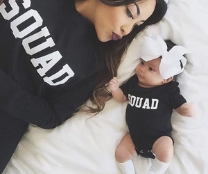 baby, daughter, and squad image